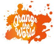 女性への暴力のない明るい未来、世界をオレンジに